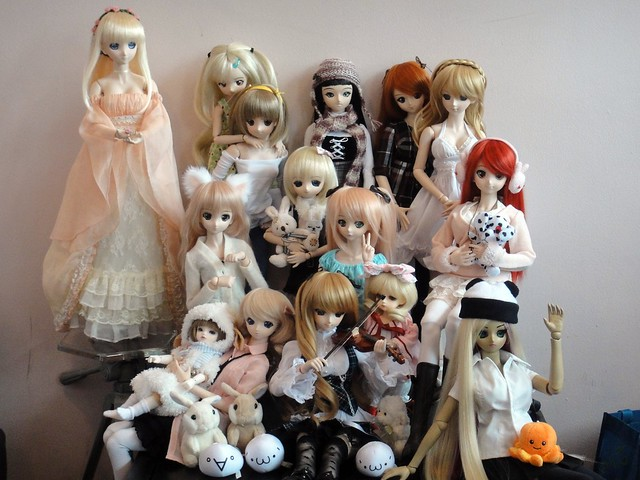 Doll Meet at Café Princess - cropped
