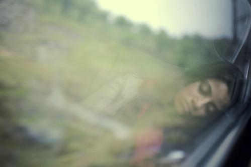 Sleeping beauty.