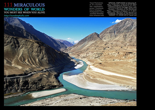 COVER 111 WOW TRAVEL PHOTOSTORIES BOOK COVER - CONFLUENCE OF INDUS by SunDeep™ 70+Countries SDBWP™ sundeepkullu.com