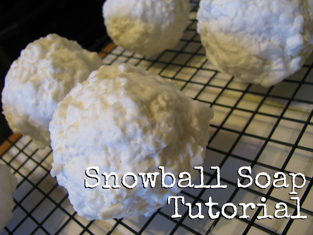 Snowball Soap