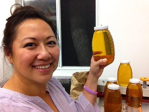Bottling Gonzales Wildflower Honey