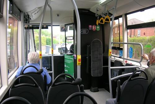 Solo SR hybrid interior view