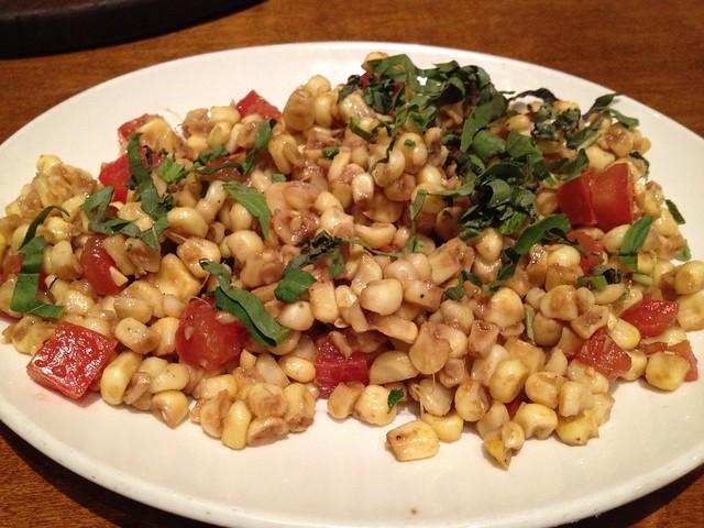 Corn salad - Firewood Cafe