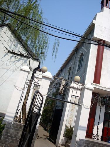 济南 县西巷 基督教会教堂