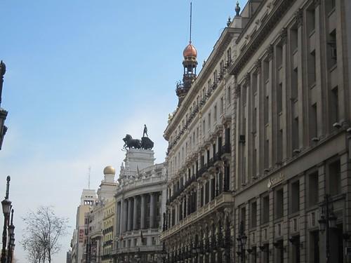 Calle Alcalá. Madrid