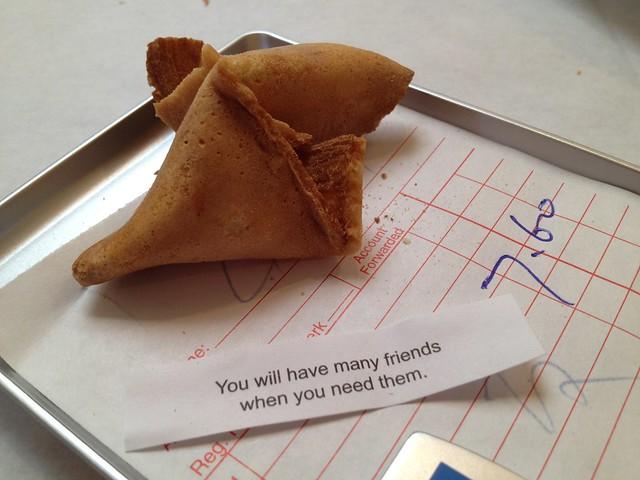 Fortune cookie - San Tung Restaurant
