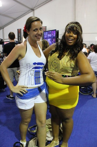 R2-D2 and C-3PO outfits