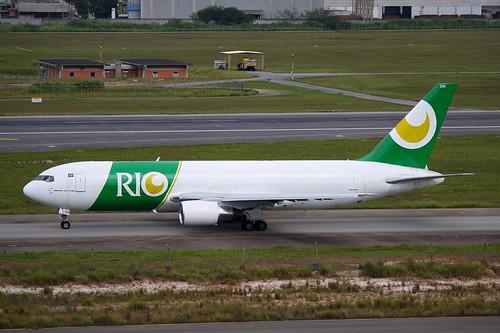 Rio   Boeing 767-200F @ SBGR