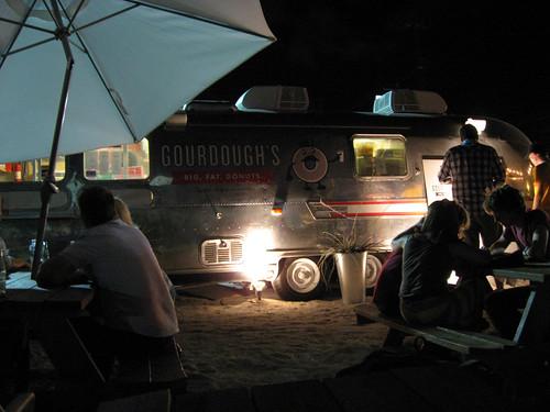 Gourdough's Airstream trailer