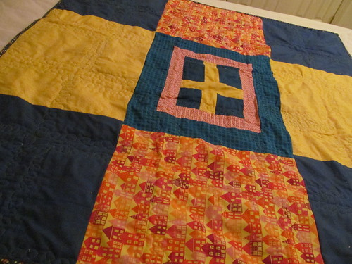 Back of Dala Quilt