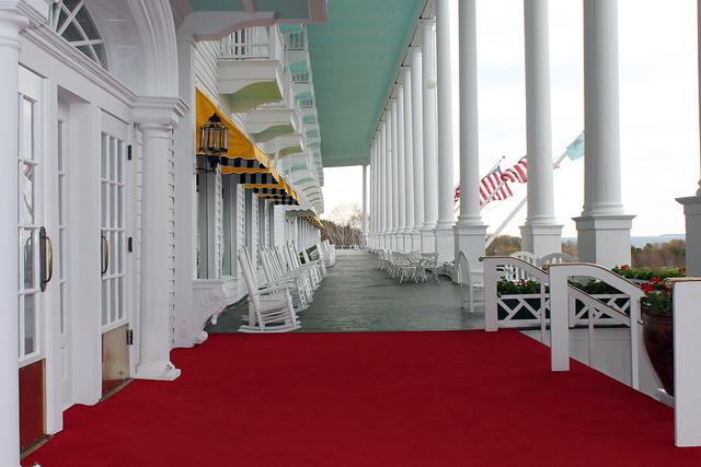 Grand Hotel porch