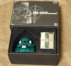zaku stand gundam lighter (1)