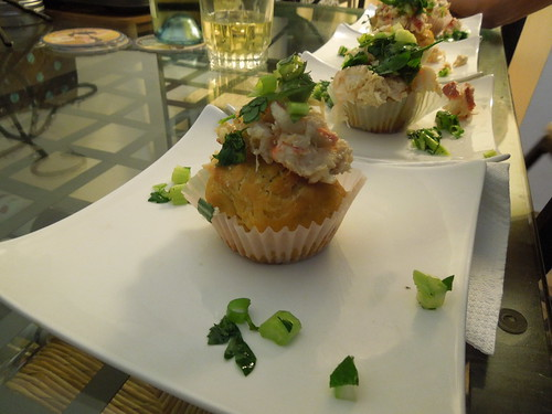 cupcake dinner - lobster roll cupcake (17) by visual ekphrases