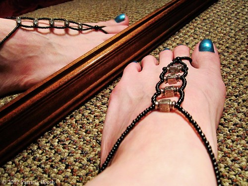 Day 144 Barefoot Sandals by pixygiggles