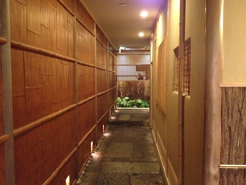 入り口は一軒家のお店の様@やまと 楽