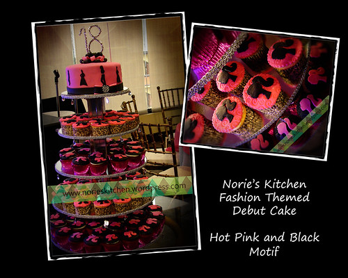 Norie's Kitchen - Fashion Debut Cake by Norie's Kitchen
