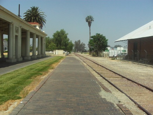 Platform of The In Santa Fe Depot Redlands