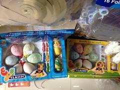 Egg decorating kit, Easter eggs, Heartlink Trading