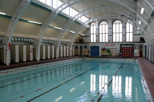 Pool reopening day - 16th April 2012
