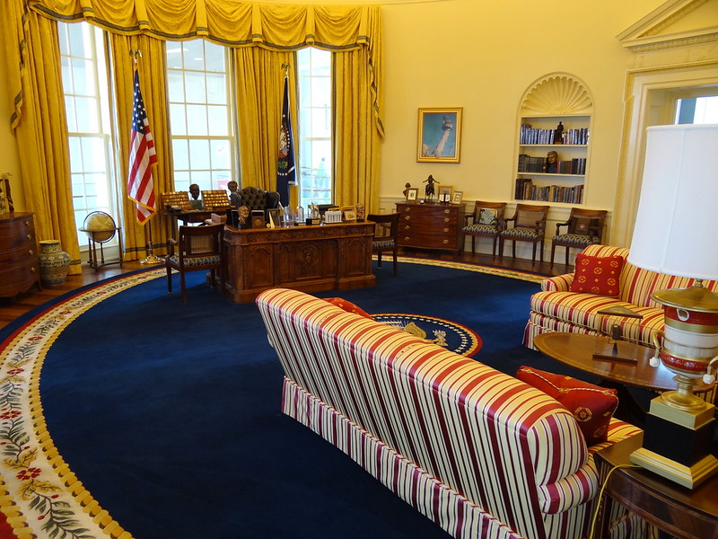 Recreation of Oval Office by Adam Jones