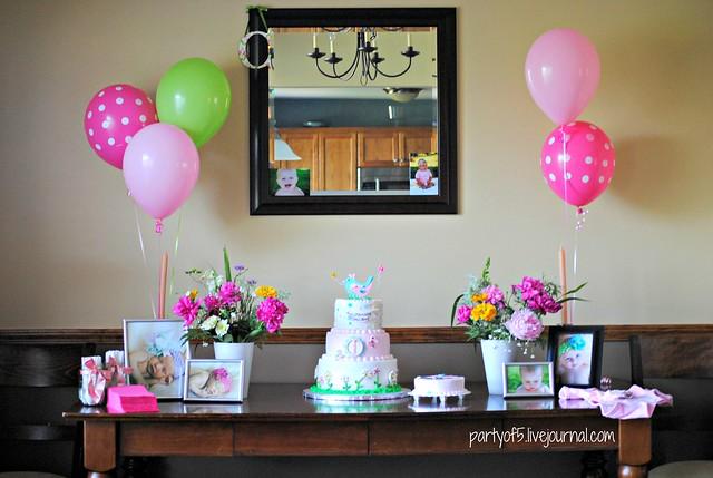1st birthday party 010
