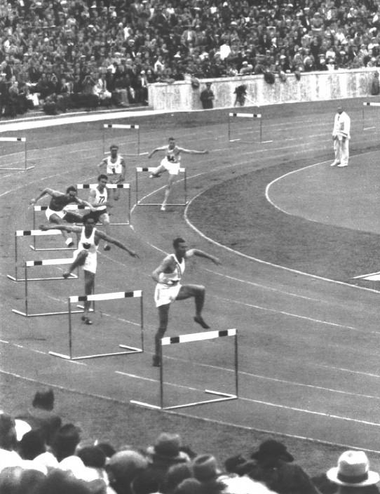 Miguel White Amazing 1936 Olympic 400m Hurdle Bronze 18