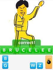 BRUCELEE, Draw Something App
