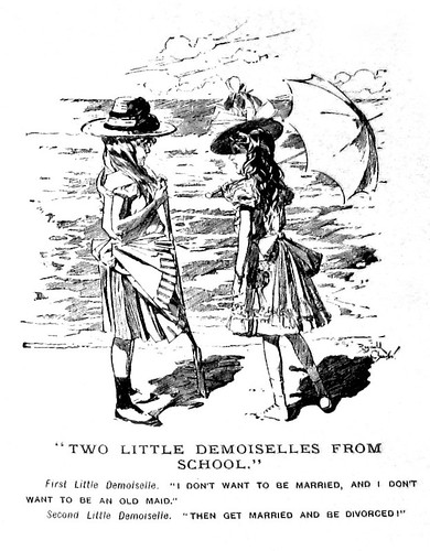 Two Little Demoiselles From School