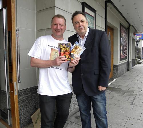 Tony Higginson and Philip Caveney