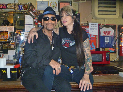 Dick Manitoba and Zoe Hansen