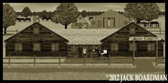 Triple Bar X Ranch ©2012 Jack Boardman
