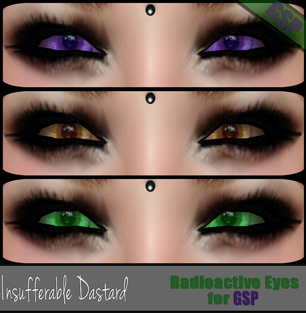 Insufferable Dastard - Radioactive Eyes