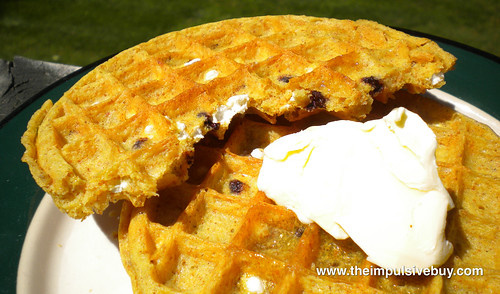 Kellogg's Limited Edition Eggo Seasons S'mores Waffles Closer Up