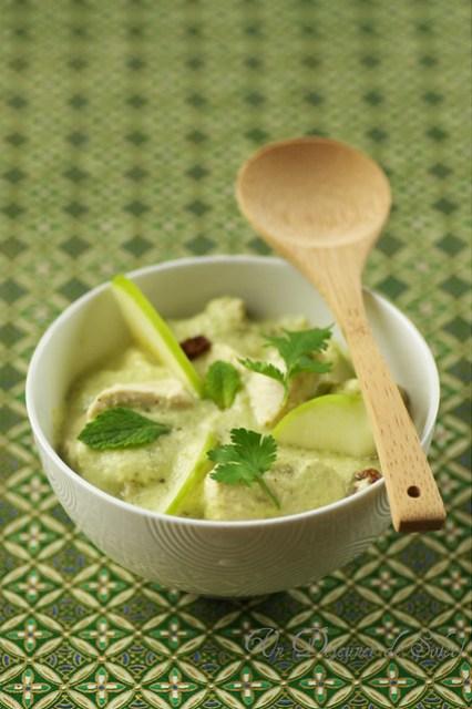 Poulet Balti en sauce Hara Masala