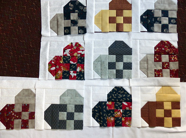 Hearts Blocks - colour