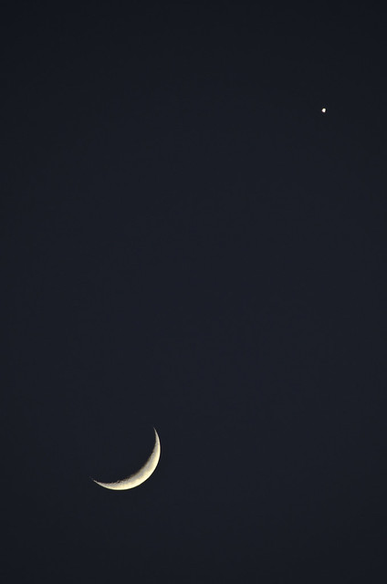 Moon Venus conjunction March 26th 2012