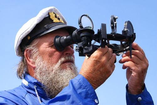 Image: Captain with a Sextant