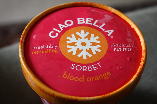 Ciao Bella Blood Orange sorbet