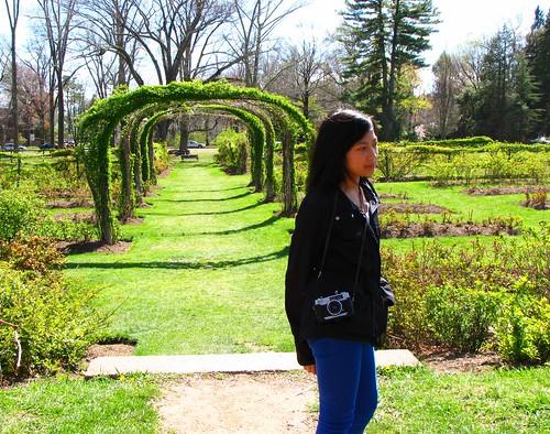 A Girl at Elizabeth Park