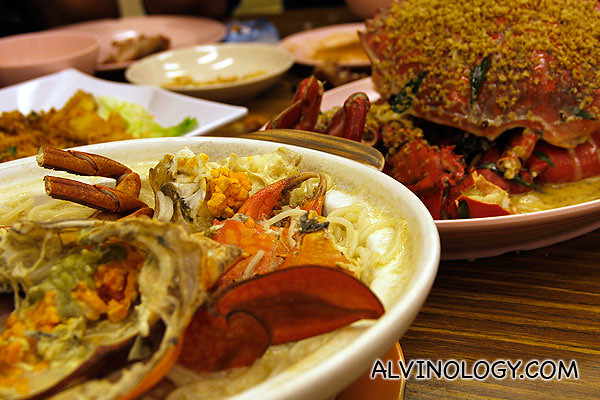Uncle Leong Seafood is well-known for its crab dishes