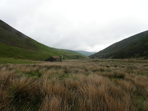 Looking back to Langden Castle