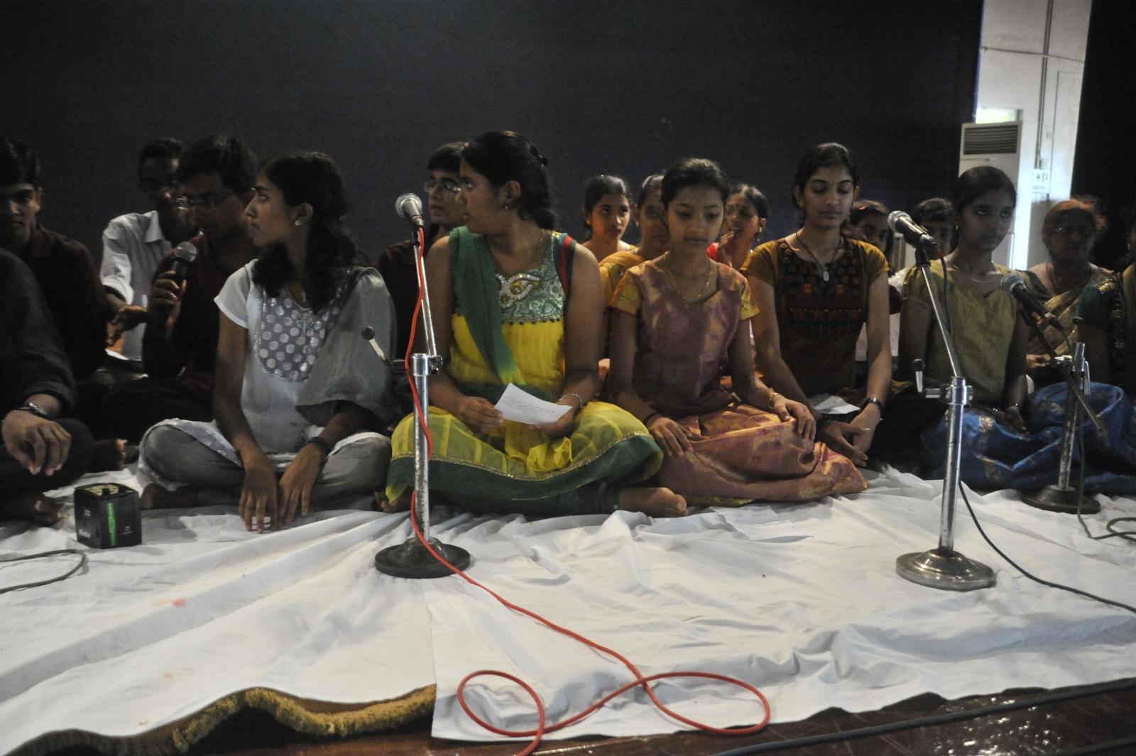 Veena Vidwan Subramanyam, is a very learner centric facilitator