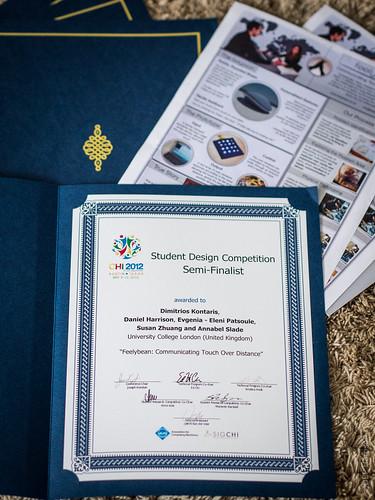 Feelybean Certificates! by DBP Harrison