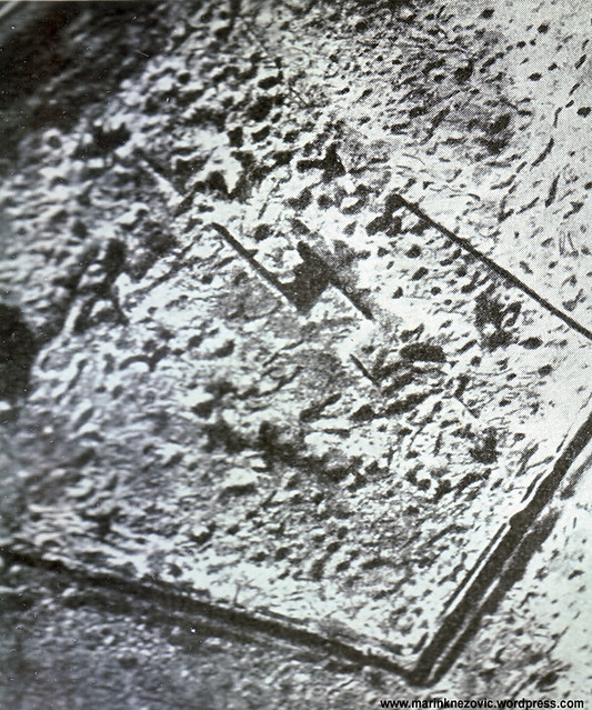 Utvrda u Verdunu poslije bombardiranja