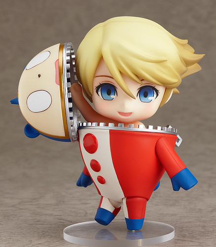 Nendoroid Kuma / Teddie (Human form) getting out of his bear suit