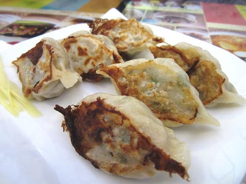 NoodleHouse dry fried dumplings