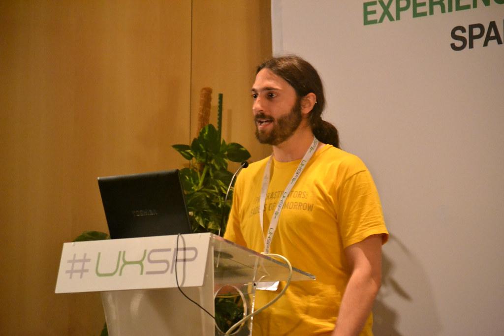 Pablo Sánchez en el UxSpain