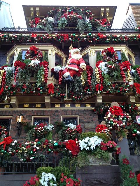 Christmas house Castro Street