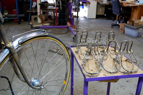 Rack building. Almost there.. by mapcycles
