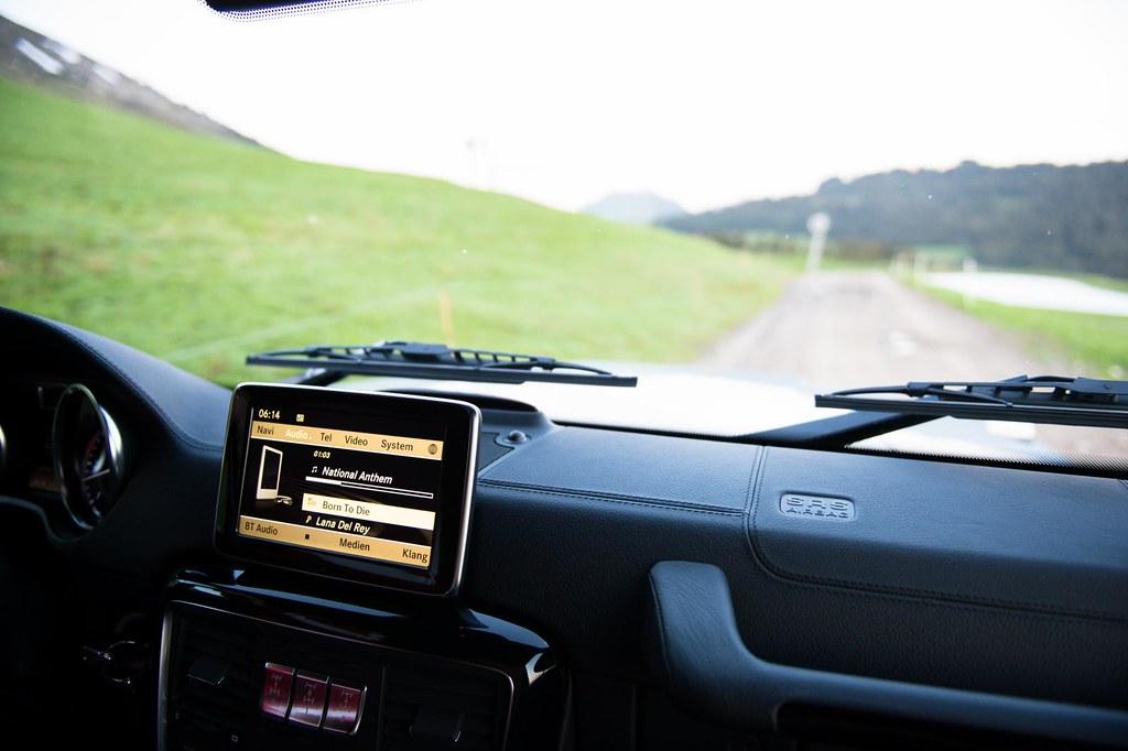 Mercedes Benz G-Class interior